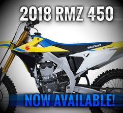 2018 RMZ 450