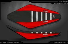 Two Tone Gripper With Ribs: <span>Honda</span>