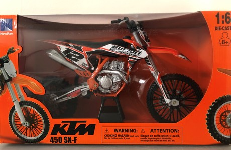1:6 Scale Mini Toy Dirtbikes
