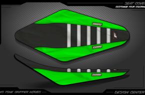 Two Tone Gripper With Ribs: <span>Kawasaki</span>
