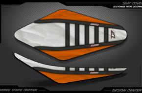 Ribbed Stripe Gripper: <span>KTM</span>