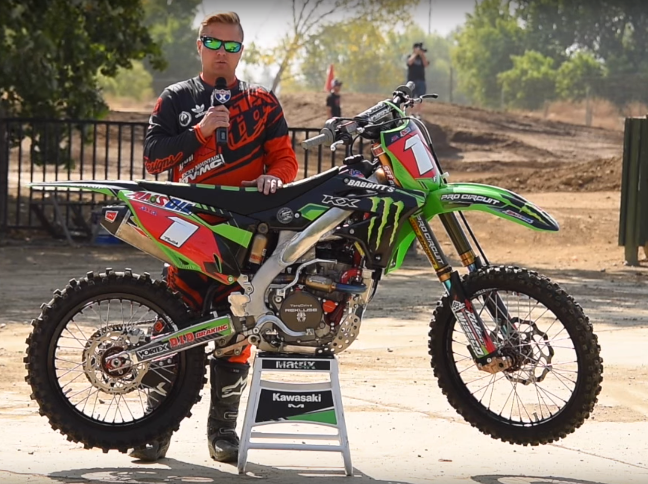 Racer X Films: Team Babbitts KX250F - Fusion Graphix LLC