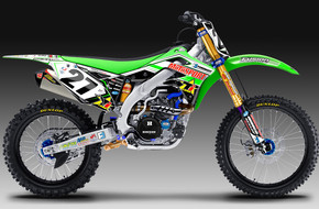 2012 Team TiLube/Motosport Nick Wey Replica: <span>Kawasaki</span>