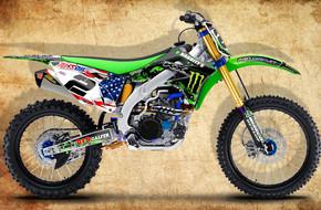 2016 Babbitts Kawasaki CAMO W/ USA plate: <span>Kawasaki</span>